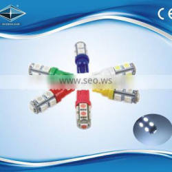 high quality led car light for the T10 5050 SMD led auto lamp