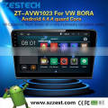 Latest Android 4.4.4 up to 5.1 auto radio for vw bora MCU 1.6G 4 core 3g wifi OBDII