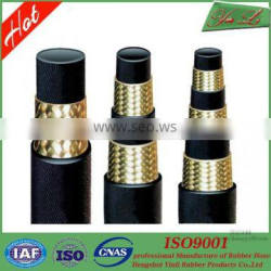 High pressure one steel wire braided hydraulic hose in costly