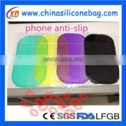 New Soft Silicone Rubber Anti Slip Pad for Mobile Phone in Car non slip gel pad