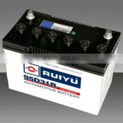 Dry Charged Car and auto Battery N80