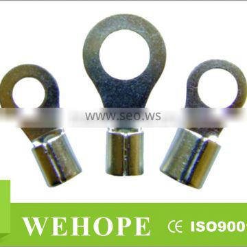 2/0AWG 70-95mm2 tinned copper Non-Insulated Ring Terminals