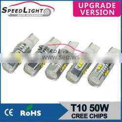 Speedlight Auto T10 LED Bulb High Power T10 LED W5W