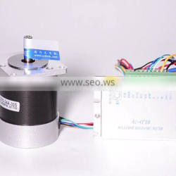 Factory supply custom 12v 48v 110v 115 volt 230v 310v brushless dc electric motor for automation machine