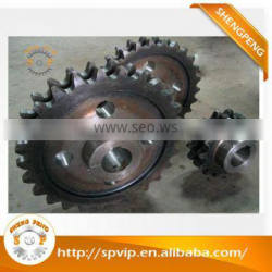 china famous precision machining sprocket gear thusted manufacturer /factory exporting directly