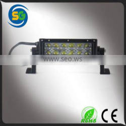 2015 hotsale 36w LED flood light bar 4D Lens led light bar for offroad