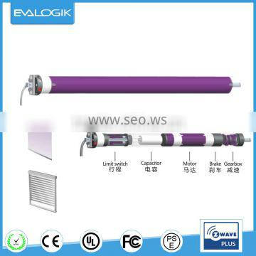 Z-Wave Tubular Motor for roller shutter ,curtain controller
