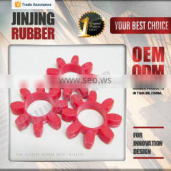 Rubber Spider Coupling in star shape