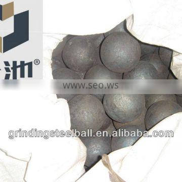 grinding forged steel balls 50mm 60mm
