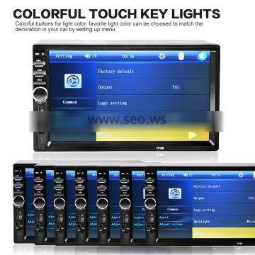 7 Inch Dual Din 2GRAM+16GROM Android Car Radio For Kia