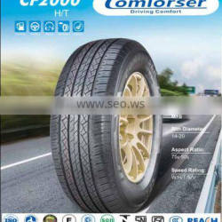 China SUV tires COMFORSER tires comforser cf3000 radial passenger car tire supplier made in China