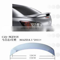 2011 the hottest car spoiler for MAZDA3 2011+
