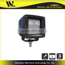 12W C ree Truck LED work light,Heavy duty led driving light, Vehicle led light, Tractor led light, Motorcycle LED light