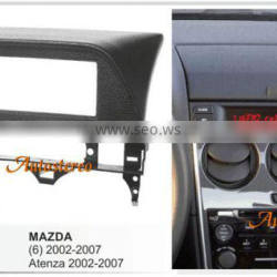 Car Radio Fitting Kit installation fascia for MAZDA 6 Atenza 2002-2007 Black