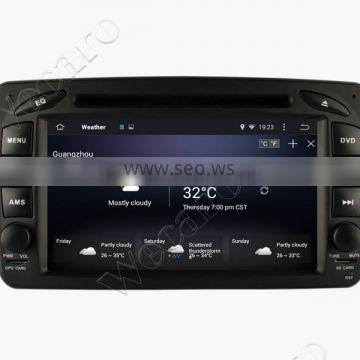 Wecaro WC-MB7507 Android 4.4.4 1080p for mercedes vaneo car gps navigation 2002 - 2005 Steering Wheel Control