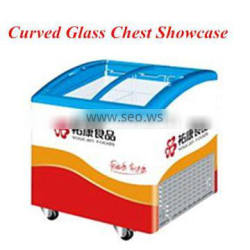 CE approved supermarket high quality ice cream display freezer