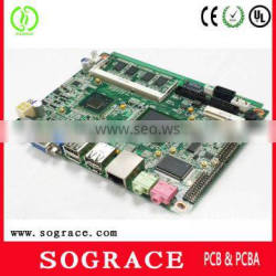 1.6mm 94v0 pcb assembly with hasl surface