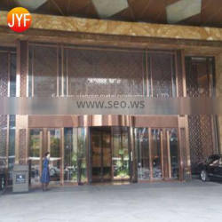 Jyf0043 Stainless Steel Decorative Perforated Partition Panels Indoor Screens Laser Cut Metal Room Dividers