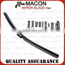 Multifunctional Frameless Soft Wiper Blade With 9 Adapters