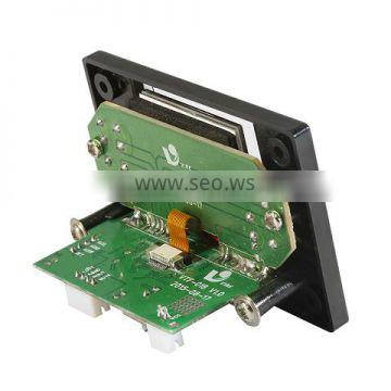OEM fm usb mp3 player module ir remote control with lcd display