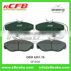 4251.16 BRAKE PAD for PEUGEOT BOXER