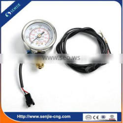 factory sale cng equipment for cars round pressure gauge
