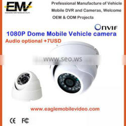 Dome CCTV IP Camera For Bus 1080P