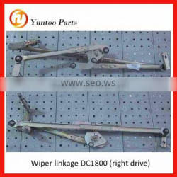 yutong bus ZK6101 Wiper linkage DC1800 (right drive) stainless steel linkage
