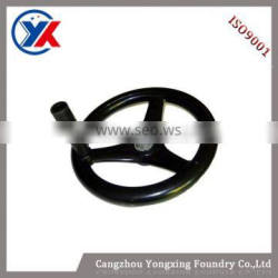 CNC machining parts casting cast iron handwheel