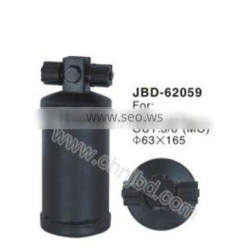 universal steel receiver drier,best price AC Receiver Drier,Low price auto ac parts ,air conditioning receiver drier