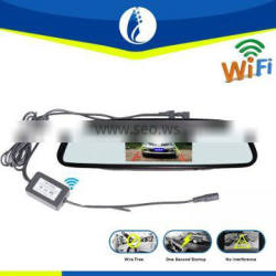wire free Full Hd 1080P Dual Lens Car Dvr Mirror installation ,wireless free installation by you self .