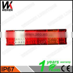 WEIKEN new products Spare Parts Tail Light LED Tail Lights 24V Truck bus rear light WK-BSWD01