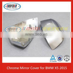 car accessory China wholesale chrome side mirror cover cap for BMW X5 F15 2014 Up