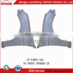 Popular JUNCHENG FAW N5 front fender china wholesale auto parts