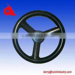 agriculture machine handwheel with rubber coated