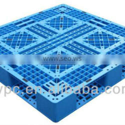plastic square mesh pallet size in 1100*1100*150mm