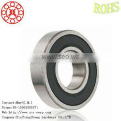 Single row deep groove ball bearings can withstand radial and axial load,609-2RS ball bearing