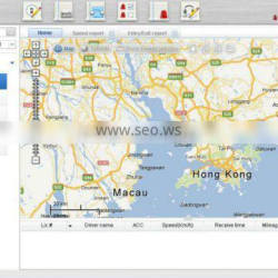 web based live car monitoring system support driving performance report