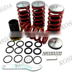 Auto Parts Cars Aluminum Red Adjustable Suspension Coilover Springs