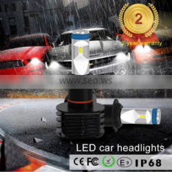 12 volt car led headlight with canbus error free function led head light bulb