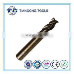 Coffee Finish HSS End Mill