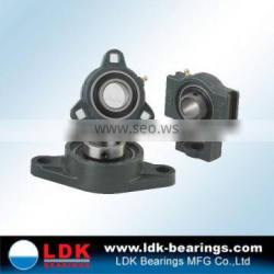 LDK 2 bolt flange Cast Iron pillows block bearing ucfl204
