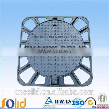 Supply 600x600 weight ductile iron drainag manhole cover d400