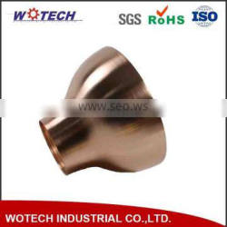 Copper spinning parts