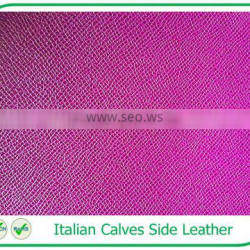 Remarkable Quality Genuine Leather Italian Tanned Calf Leather