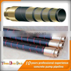 china manufacturer DN125 conrete soft hose converying cement