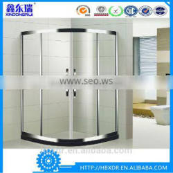 China Xindongrui factory black and white aluminum frame sliding glass complete steam shower room