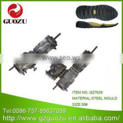 steel outer soles inject mould
