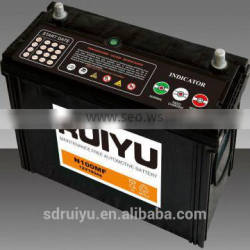 ON ENGINE FOR STARTING BATTERY 12V100AH battery