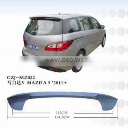 2011 the hottest car spoiler for MAZDA 5 2011+